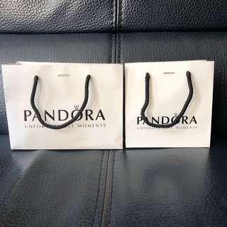 Pandora紙袋