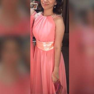 Preloved Pink Gown