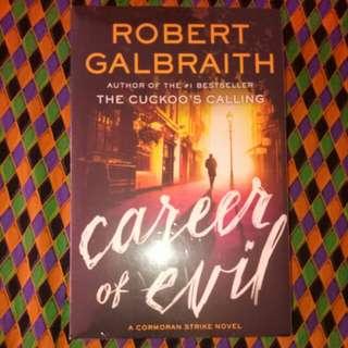 Career of Evil - Robert Galbraith (JK Rowling)