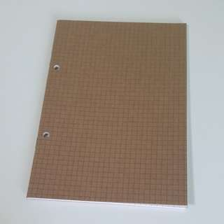 Square Grid Notebook