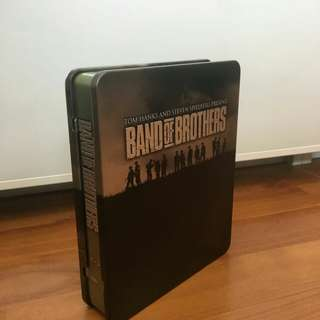 Band of Brothers Metalbox Bluray Collection