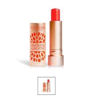 Loccitane Red Orange Tinted Lip Balm