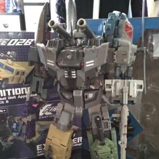 Transformers bruticus with upgrade kit