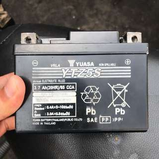 battery yamaha 3.5 amp