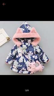 Winter baby coat