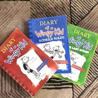 Diary of a wimpy kid book 1-2