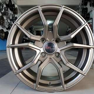 Velg HSR VENDETTA R15x6.5 H4/100 bronze