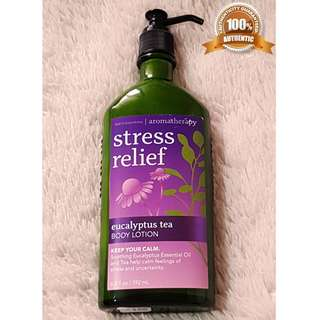 Bath & Body Works Aromatherapy Lotion - Eucalyptus Tea