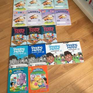 Grade One and Two Textbooks