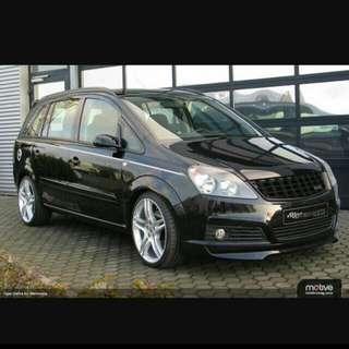 Opel Zafira 1.8A MPV CNY Rental 15th To 26th Feb