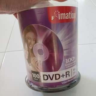 Imation DVD+R 100pcs