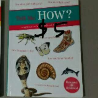 Science knowledge book