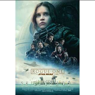 Star Wars - Rogue One Poster (Big Size)