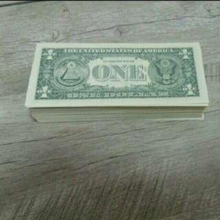 全新220張美金1蚊