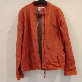 Cardinal leather jakcket