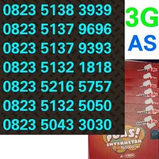 Kartu perdana telkomsel as 3G