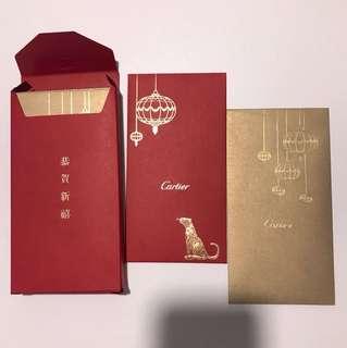 Cartier red packets hong bao ang pow