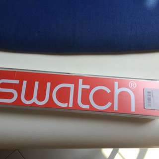 Swatch watch box