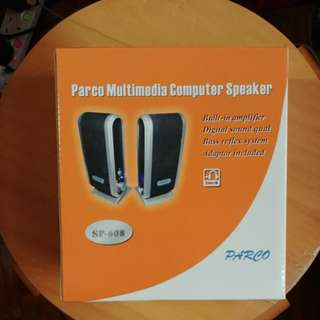 Parco Multimedia Computer Speaker