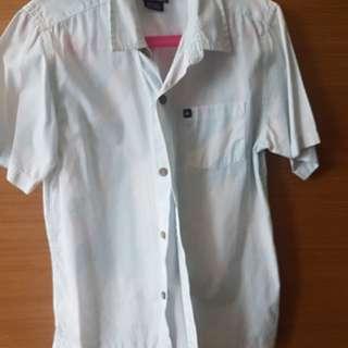 QUIKSILVER short sleeved floral boy shirt
