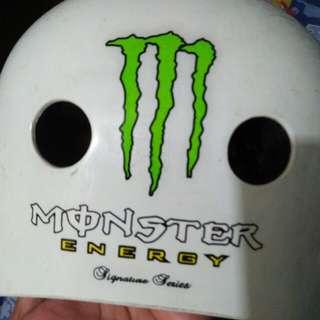 Monster  energy helmet