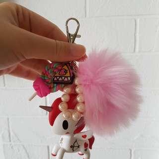 tokidoki Bag Charm unicorno valentino unikiki sea amo punk tokipop sushi donutella fob