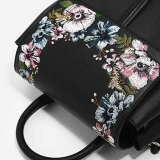 CHARLES & KEITH Front Flap Backpack