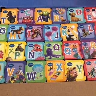 Disney alphabet board books