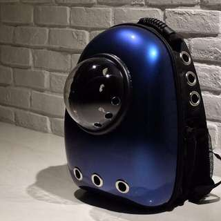 """Galaxyblue"" Astronaut Capsule Cat Bubble Backpack Carrier"
