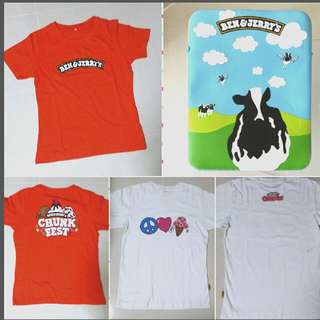 Brand New Ben & Jerry Limited Edition Merchandise l