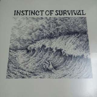 Vinyl Record / LP: Instinct Of Survival ‎– Call Of The Blue Distance