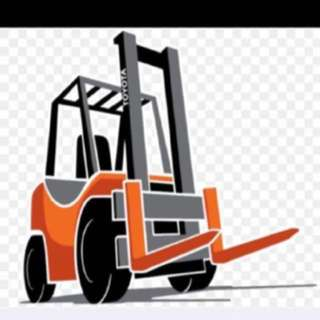 Forklift Rental, Lorry and Fridge Truck Rental!