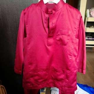Baju Melayu Budak size 1