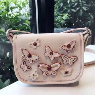 COACH Saddle Patricia Butterfly