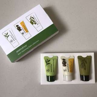 Innisfree - Cleansing foam collection