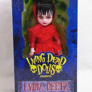 BNIB Living Dead Dolls - Lydia Deetz