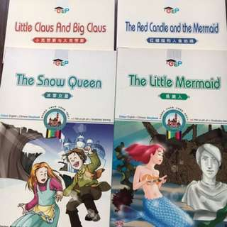 The Snow Queen, The Little Mermaid etc