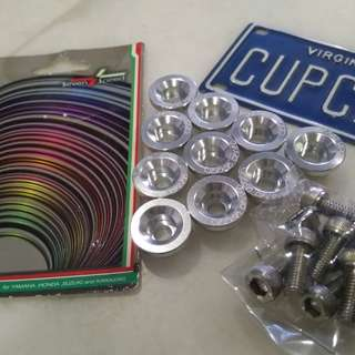 Fairing screw set