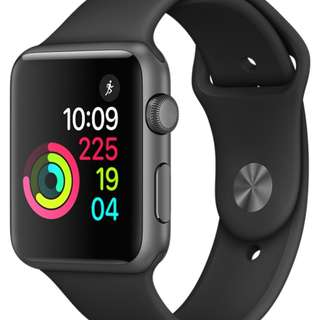 Selling Brand New Apple Watch Series 1 (42mm Space Grey Aluminium Case with Black Sport Band)