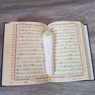 Al Quran Digital PQ05 Alquran Pen Elektrik Alat Baca Alquran Otomatis