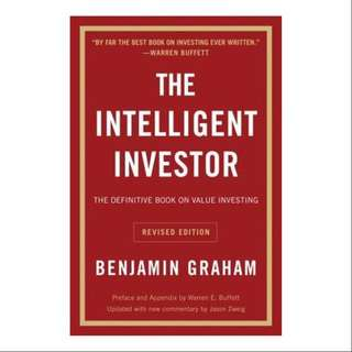 [Instock] The intelligent investor (Paperback)