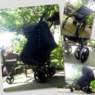 Black Chicco Stroller with box