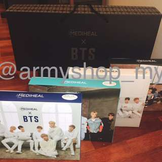 [READYSTOCK] MEDIHEAL X BTS Mask Pack Set
