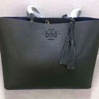 TORY BURCH MCGRAW OPEN TOTE BAG