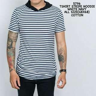 T-shirt Stripe Hoodie