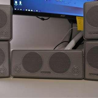 Daewoo 5.0 Surround Speaker System DS-41VF 喇叭揚聲器