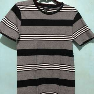 Forever21 Striped T-Shirt