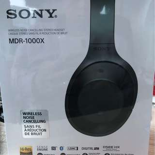 brand new Sony MDR-1000X to sell
