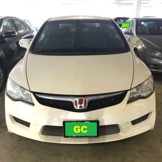 Honda Civic THE CHEAPEST RENT AVAILABLE FOR Grab/Uber