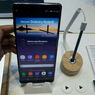 Samsung galaxy Note 8 kredit